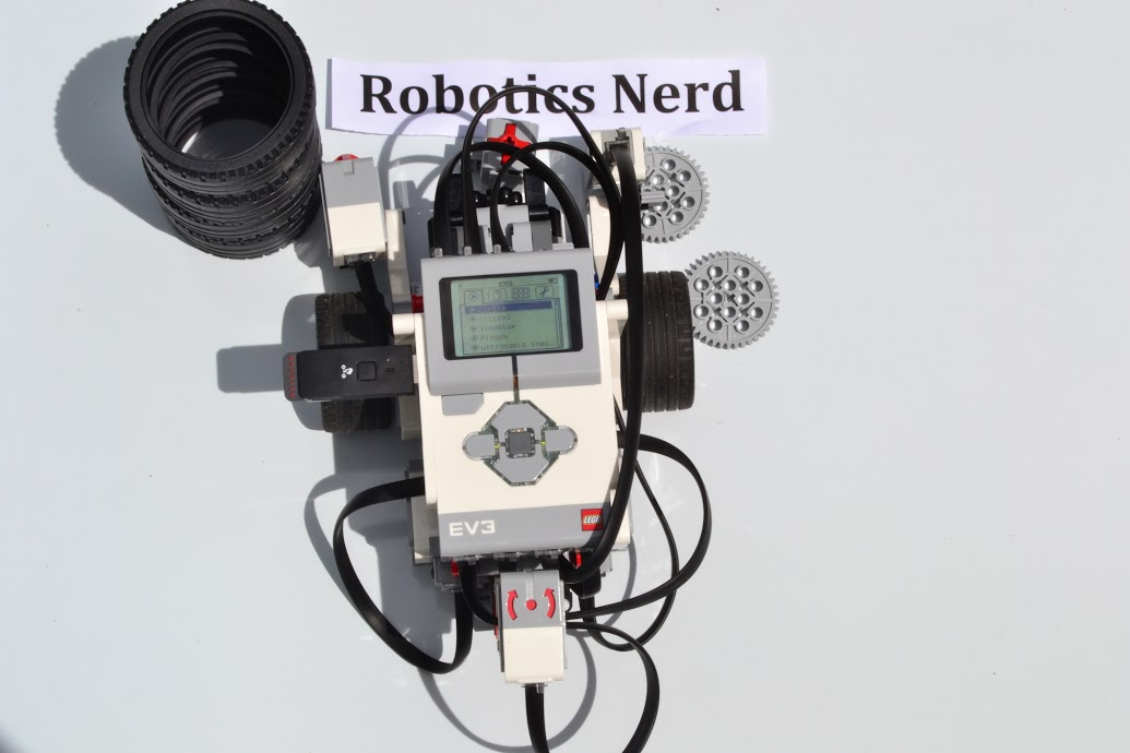Robot with all sensors connected